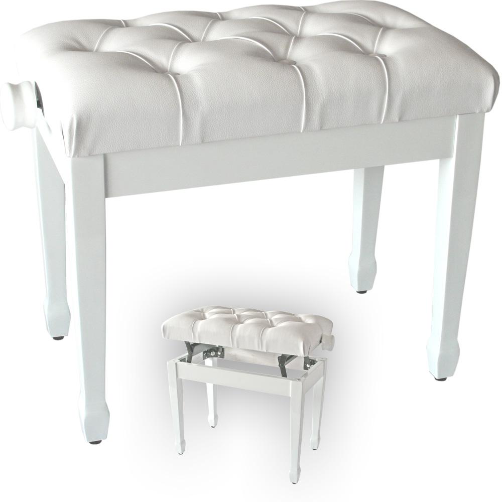 gepolsterte klavierbank aufklappbar h henverstellbar f r piano fl gel keyboard ebay. Black Bedroom Furniture Sets. Home Design Ideas